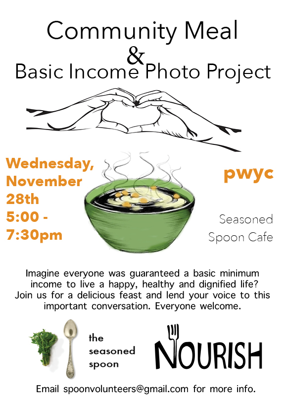 Community Meal & Basic Income Photo Project