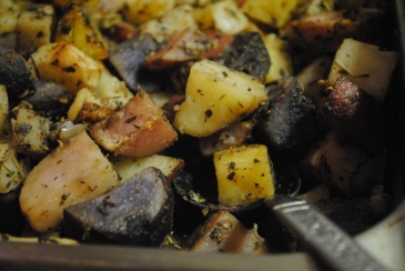 Baked and Seasoned Potatoes