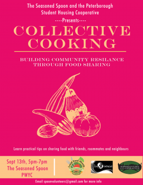 Collective cooking workshop
