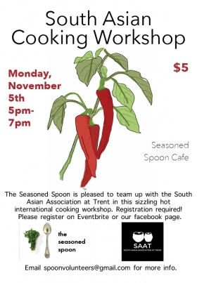 South Asian Cooking Workshop