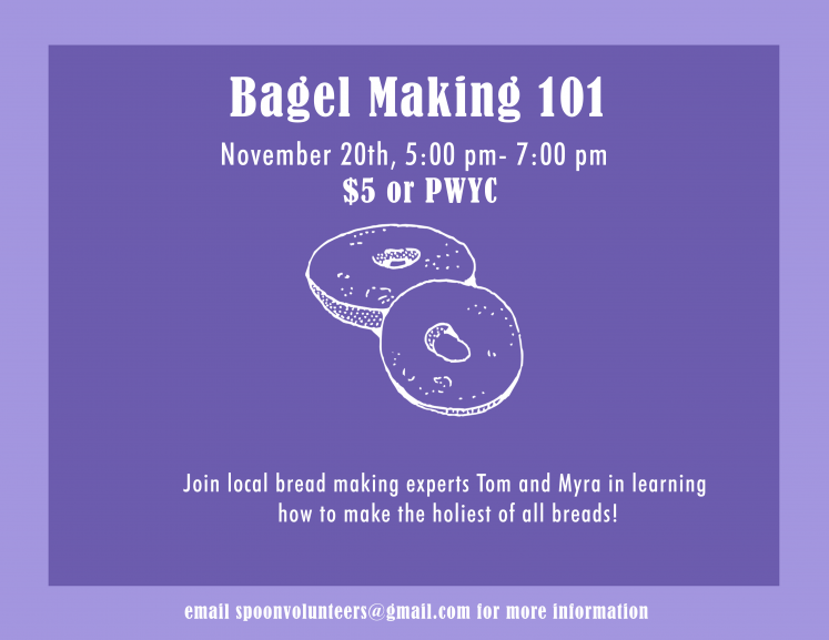 Bagel Making Workshop