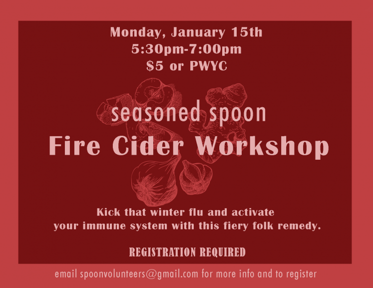 Fire Cider Workshop