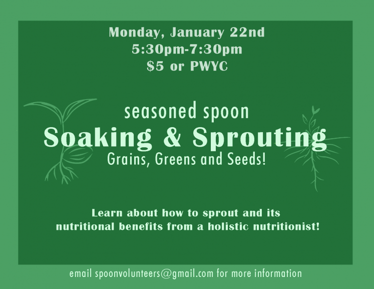Sprouting Workshop