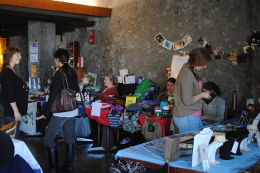 Candid photo of a workshop at the Spoon