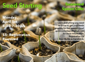 Seed Starting Poster